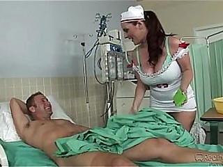 Big tits nurse gets fucked