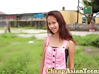 18 yo girl picked up and shagged for a few bucks in the Philippines (best country ever)